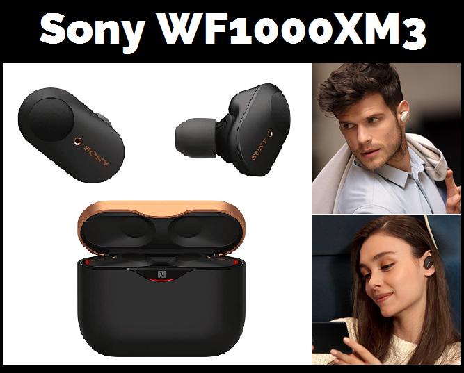 Sony WF1000XM3 -ranking de los mejores auriculares inalambricos